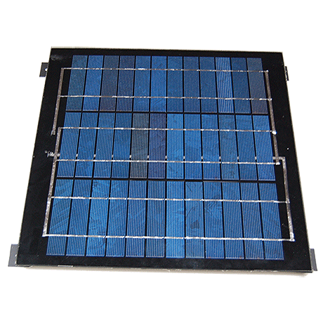 12 W solární buňka s úchyty