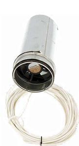 Externí ventilátor (12V - Ø125 mm): 1,9W(SV3) / 3,4W(SV7-14-20) / 5,1W(SV30)