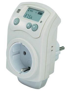 Spínací zásuvka s hygrostatem (230 V)