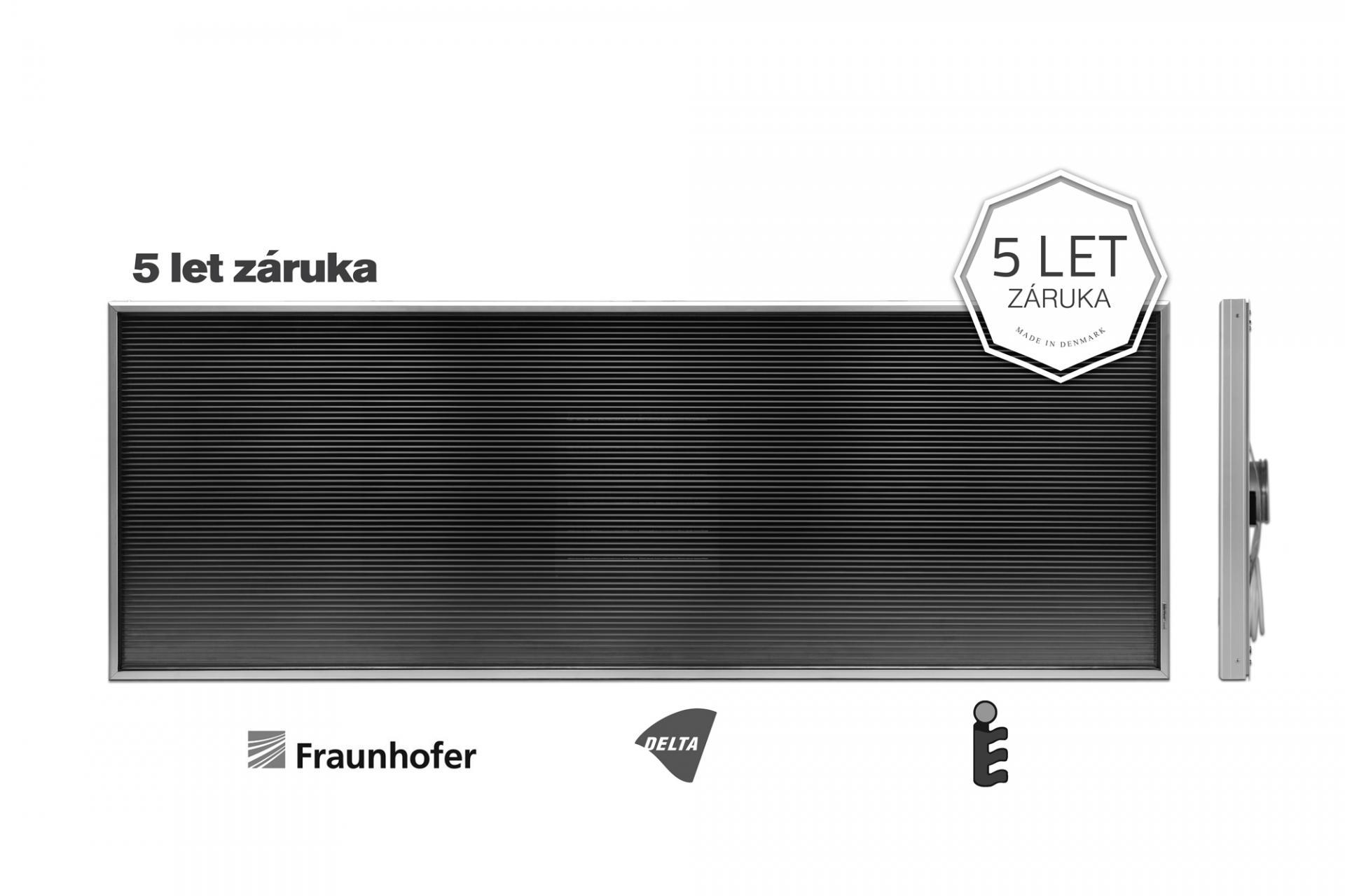 Teplovzdušný solární panel SolarVenti SV14 Comfort - (bez solárního článku)