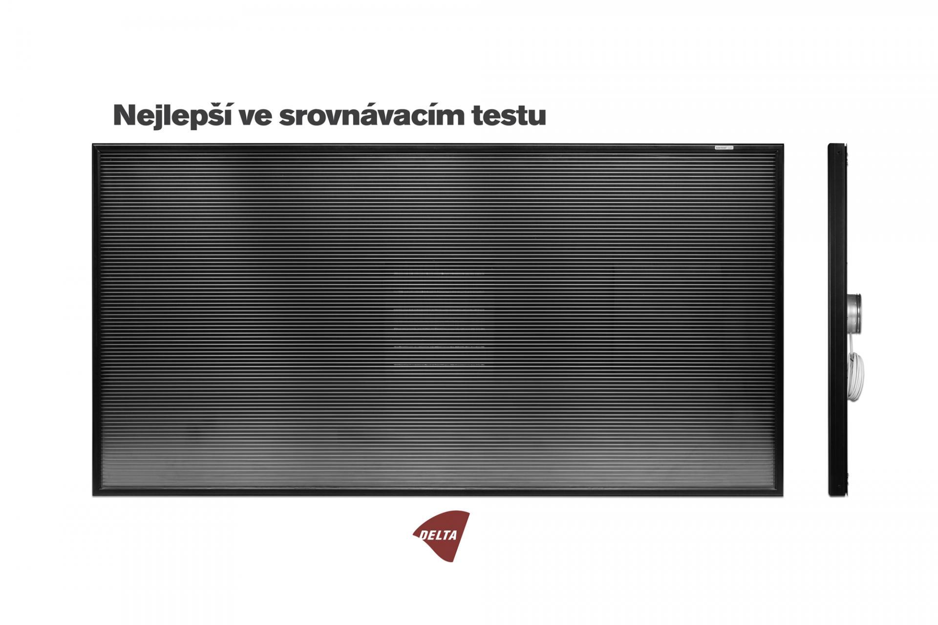 Teplovzdušný solární panel SolarVenti - SV20 A SlimLine