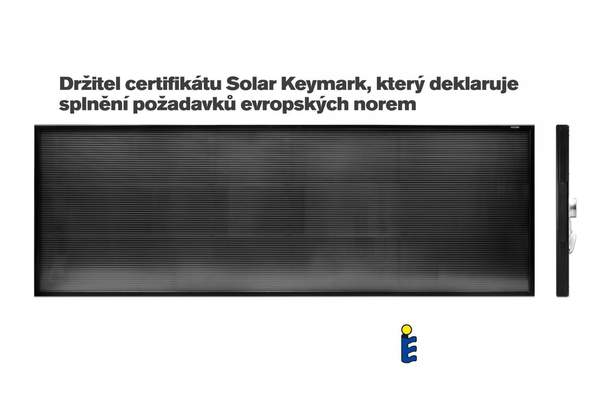 Teplovzdušný solární panel SolarVenti - SV30 A MidLine